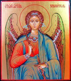 Купить икона Ангел Хранитель - икона, икона в подарок, Икона ручной работы, Икона на заказ
