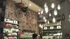love the suspended bicycle