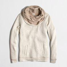 Factory funnelneck sweatshirt - Women - early_access_2019's View All - J.Crew Factory
