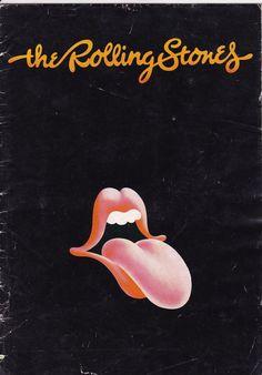 Rolling Stones Australian Tour 1973 Concert Program Rolling Stones Rolling Stones Poster Rolling Stones Logo
