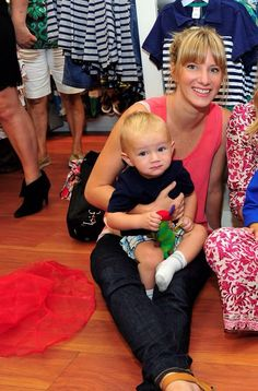 hemo and elijah at the launch of Gymboree's new collection,