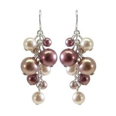 Seriously, these pearl drop earrings are $6, and free prime shipping?  I don't know how I could not buy them.
