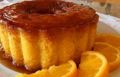How to make Portuguese orange pudding (Pudim de Laranja).