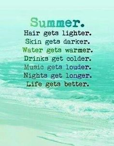 Summer, beach, music, drinks