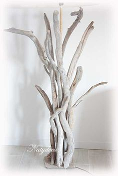 1000 images about d coration en bois flott on pinterest for Vase avec bois flotte