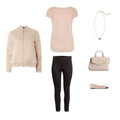 The French Minimalist Capsule Wardrobe: Spring 2017 Collection Outfit #47  Transform your closet! 26 clothes and shoes, Dozens of outfit ideas, like this bomber jacket, ankle pants, flats, handbag and Kendra Scott necklace.