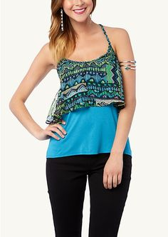 Braided Tribal Tank | Tanks | rue21