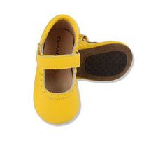 Nordic Street - ENFANT Shoes Ballerina Lace (Yellow)