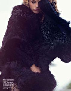 Emily Didonato, Clement Chabernaud, Martha Hunt & Karlina Caune by David Bellemere for Vogue Paris September 2013