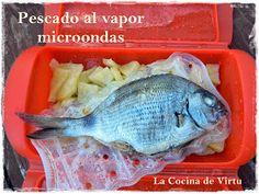 La cocina de Virtu: Pescado al Vapor en el microondas