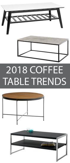 Trending Coffee Tables 2018