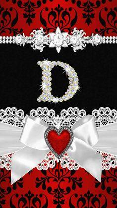 Fondo de pantalla con la letra D