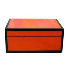 Orange Lacquer Medium Box