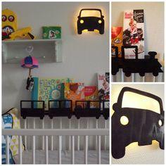 Diy car-light and train-shelf