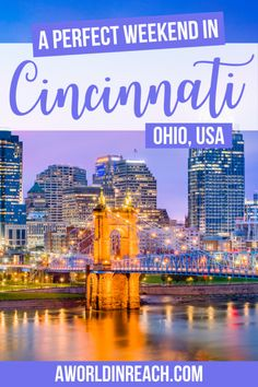 Cincinnati, Ohio is a great city for a weekend getaway. Check out this complete guide with everything you need to know to plan a weekend in Cincinnati! things to do in Cincinnati Ohio / where to go in Cincinnati / attend a Cincinnati Reds game / Cincinnati Zoo / where to stay in Cincinnati / where to eat in Cincinnati / places to visit in Ohio / places to visit in the USA / USA travel destinations / Cincinnati travel tips / Cincinnati weekend itinerary / #Cincinnati #Ohio #USATravel #TravelTips