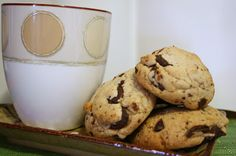Biscuits chocolat et bacon