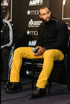 Omari Hardwick Minus those pants                                                                                                                                                                                 More