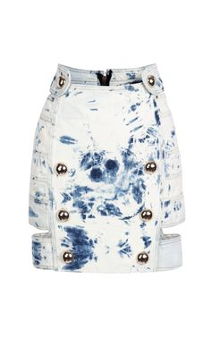 2 Band Fitted Skirt by Anthony Vaccarello