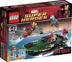 Super Heroes Iron Man Extremis Sea Port Battle