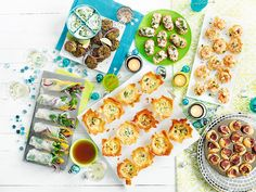 6 lyxiga snittar till mingelfesten Swedish Recipes, Party Food And Drinks, Canapes, Fresh Rolls, Advent, December, Appetizers, Snacks, Christmas