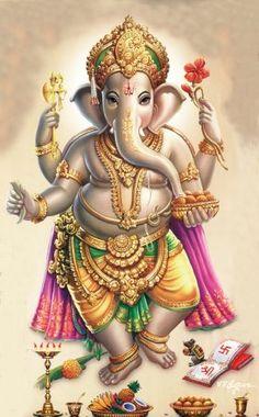 Ganesh high res images of our Ganesh Lord, Sri Ganesh, Ganesha Pictures, Ganesh Images, Arte Ganesha, Ganesh Tattoo, Ganesh Wallpaper, Hd Wallpaper, Lord Ganesha Paintings