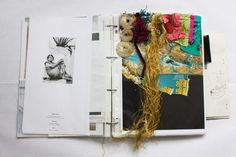 The Fashion Architect: Second year womenswear student Ernesto Naranjo shows at Madrid Fashion Week – 1 Granary Sketchbook Designer, Sketchbook Layout, Textiles Sketchbook, Fashion Design Sketchbook, Sketchbook Pages, Sketchbook Inspiration, At Madrid, Study Architecture, Flower Doodles