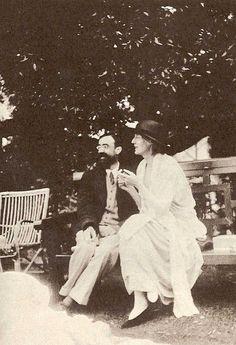 Lytton Stratchey et Virginia Woolf