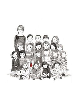 What a lovely illustration #illustration #drawing #children