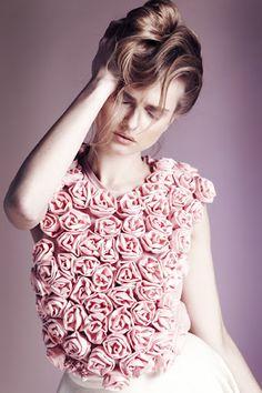 Fleur Fashion...  Rose top