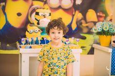 Arthur Miranda Festa de 4 anos tema minions