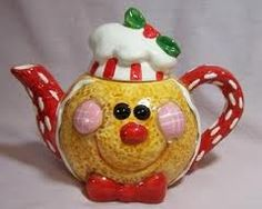Gingerbread Teapot