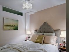 "Bedroom | Gray/White/Pink/Gold | ""like that metallic pillow"""