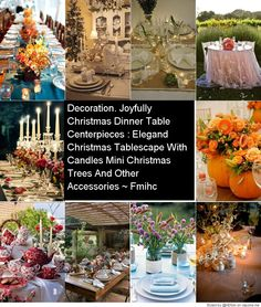 Stunning Table Scapes
