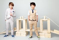 These boys dress better than me... And they have better hair! www.crewcutkids.com.