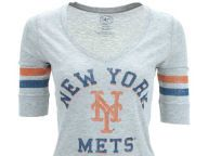 New York Mets '47 Brand MLB Womens Fog Cutter T-Shirt T-Shirts Apparel and other New York Mets products at Lids.com