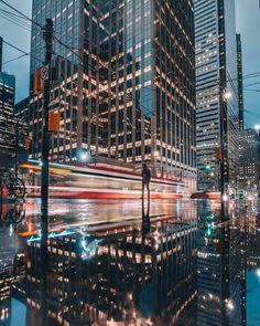 Striking Urban Photography in Toronto by Aaron Charles photography Toronto urban street cinematic 698832067157599714 Toronto Photography, Urban Photography, Amazing Photography, Street Photography, Portrait Photography, Travel Photography, Motion Photography, Reflection Photography, Night Photography