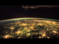 What an Astronaut's Camera Sees at Night (from ISS) - YouTube