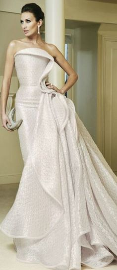 Armani Prive - wedding gown ideas.  https://www.facebook.com/DavidPressmanEvents