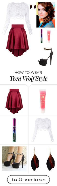 """""""Don't frown, Lydia. Someone could be falling in love with your smile."""" by tangie-leigh on Polyvore"""