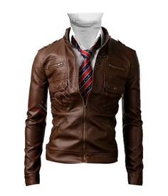 Light Brown Zip Pocket #Jacket. #Menswear #leather #coat #outfit #Fashion #Kids #Women #movies #Texas #LightBrown #ZipPocket