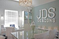 Home-Styling: Opal blue office * Atelier Opal Blue