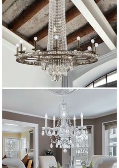 Top or Bottom which chandelier do you like better?  #WEGOTLITES