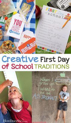 Creative First Day o