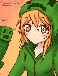 minecraft girl drawing - Google Search