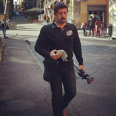 Just me... ;) Shooting in #Lucca  Follow my GooglePlus profile http://ift.tt/1HQLekQ  My communication group https://affabula.com  #Toscana #Tuscany #Italy #Italia #igitalia #igtoscana #instaitalia #igersitaly #igersitalia #selfie #portrait #igportrait #walking