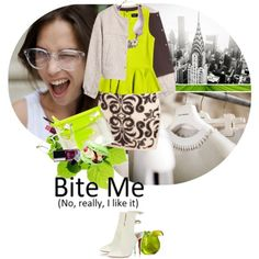 """""""Bite Me...if you can"""" by ladysnape on Polyvore"""