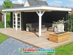 Outdoor Rooms, Outdoor Gardens, Outdoor Decor, Home Board, Backyard Garden Design, Pergola, Home And Garden, Outdoor Structures, Patio