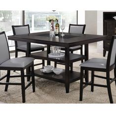 Ashton 5 Piece Dining Set & Reviews | Joss & Main