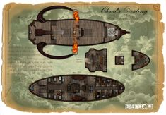 final fantasy airship map - Google Search Fantasy Map, Medieval Fantasy, Final Fantasy, Ship Map, Map Sketch, Isometric Map, Steampunk Airship, Mapping Software, Pathfinder Rpg
