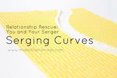 I love my serger (overlock sewing machine); it makes finishing fabric edges a snap. Even so, going around curves can be difficult, even for the most practiced sewers. Luckily, Palak from Make It Ha...